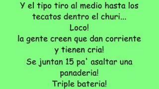 Daddy Yankee Somos de Calle Remix Con Letras (Bien Definidas 2012)