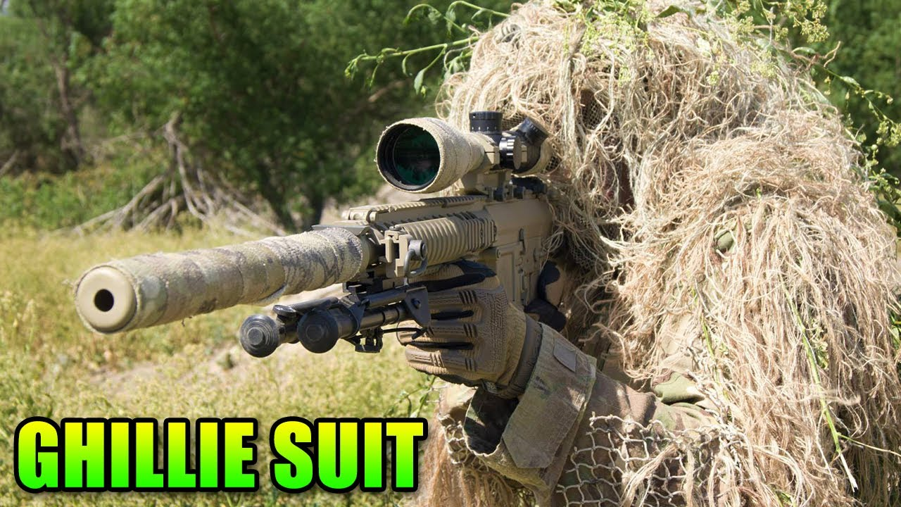 75b5a302a6a77 How To Make A Ghillie Suit - Airsoft Adventures - YouTube