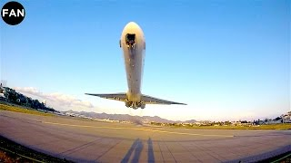 INSANELY LOW MD-80 TAKEOFF FROM ST MAARTEN PRINCESS JULIANA AIRPORT!