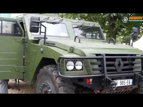 Eurosatory 2014 Day 2 International Defense and Security Exhibition Paris France Army Recognition