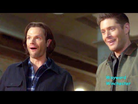 Jared Padalecki's Brain Fart On Set | Supernatural Season 15 GAG REEL BLOOPERS Vs Actual Scenes