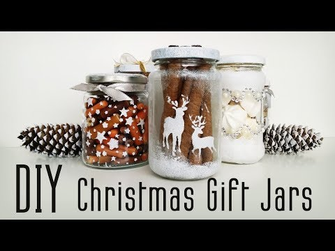 DIY Christmas Gift Jar - 7 IDEAS