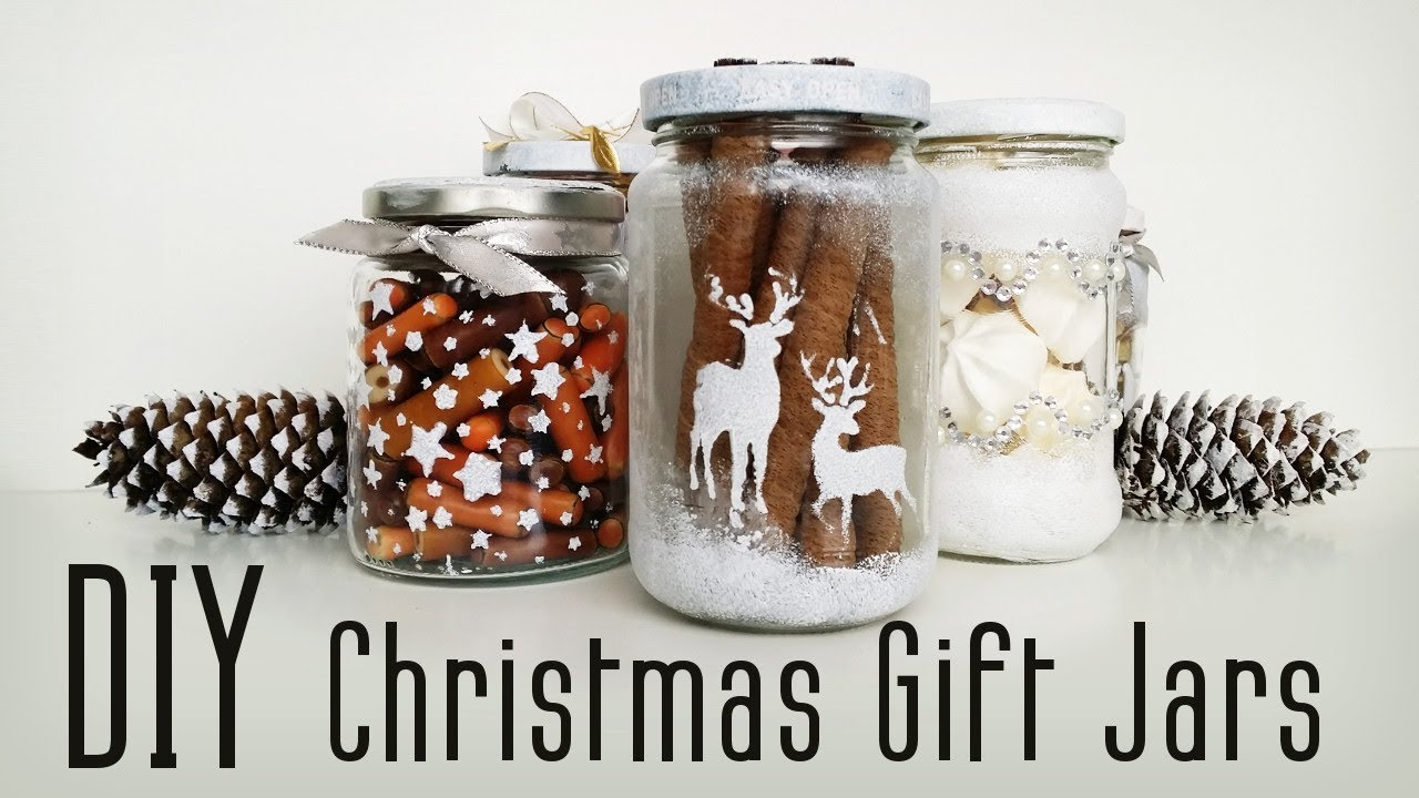 Diy Christmas Gift Jar 7 Ideas Youtube
