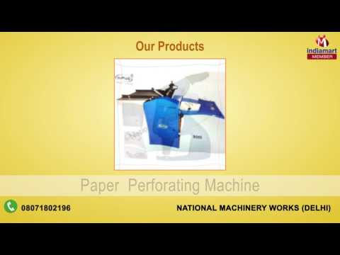Cutting and Punching Machine by National Machinery Works, Delhi