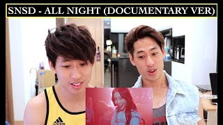 Download Video GIRLS GENERATION - ALL NIGHT (DOCUMENTARY VER) MV REACTION 소녀시대 MP3 3GP MP4