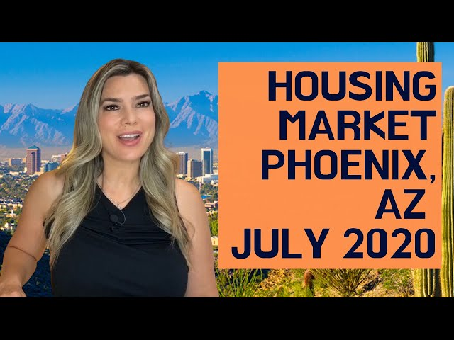 Housing Update Phoenix Arizona July 2020 - Housing Shortage Continues