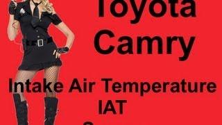 1999 Toyota Camry LE Intake Air Temperature IAT Sensor Location