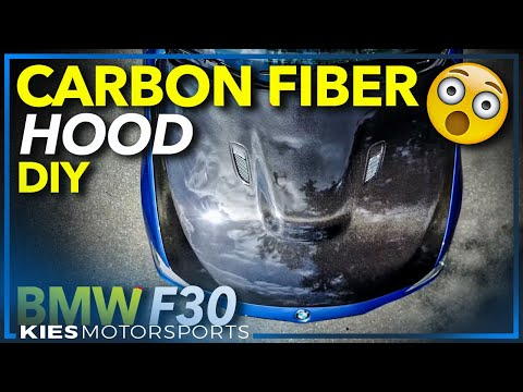 How to Install a BMW F30 Carbon Fiber Hood (Seibon Hood From Pro Auto Motion)