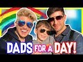 Download WE TRIED BEING DADS FOR A DAY!