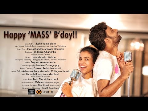 Happy Mass Birthday Teaser 2!! || Ft. Hemachandra & Sravana Bhargavi || Directed by Rohit Bommakanti