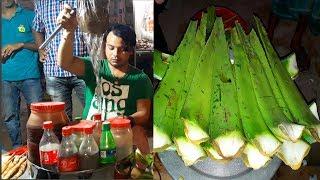 Unique & Healthy street food Aloe Vera Juice | Bangladeshi Road Shop | Healthy Drink Aloe Vera Juice