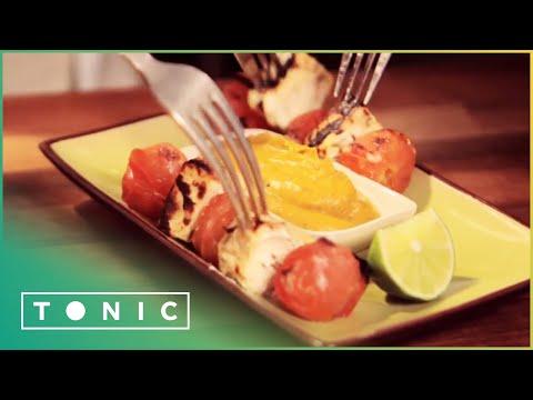 Bbq Food Tikka Paneer Skewers Feel Good Food Tonic Youtube