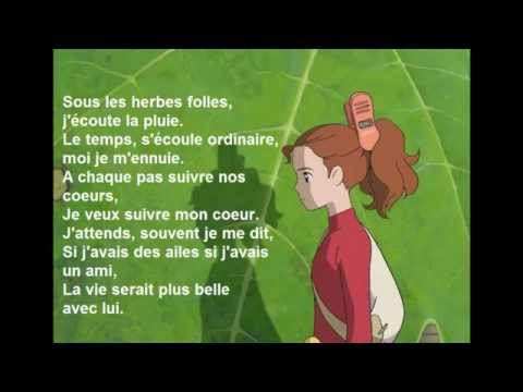 Arrietty'song en français