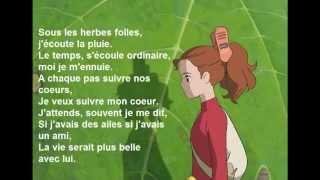 Arrietty'song en français