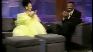 k.d. lang sings Miss Chatelaine and is interviewed by Arsenio Hall