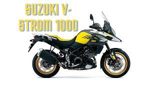 2017 Suzuki V-Strom 1000 First rideReview