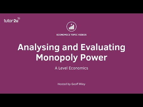 Monopoly Power - Tips for Strong Analysis and Great Evaluati