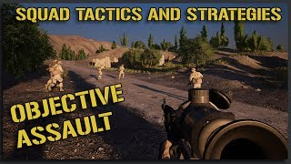 Squad V12 Objective Assault - Squad Gameplay Tactics and Strategies Guide
