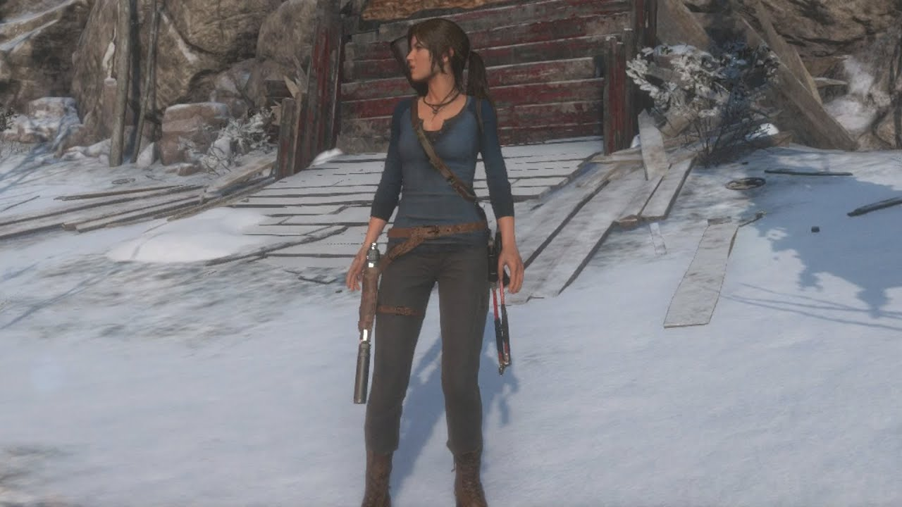 rise of the tomb raider blue henley outfit community