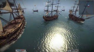 Масштабное Военно Морское Сражение Флотов 18 го Века. Корабли в игре Napoleon Total War