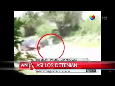 Apareció el video que analizan para saber si los prófugos fueron detenidos dos veces