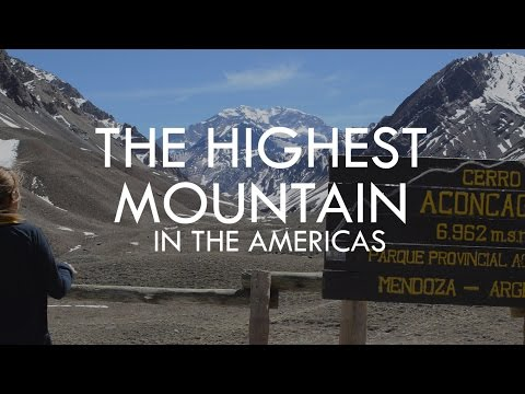 THE HIGHEST MOUNTAIN OF THE AMERICAS - ARGENTINA | TRAVEL VLOG|