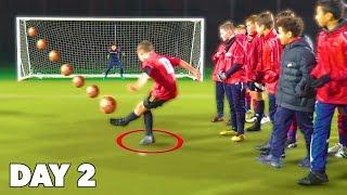 Last Kid To Score a Goal In Soccer Challenge Wins $1000
