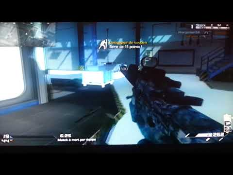 CoD ghost:team deathmatch sur sovereign