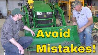 NO REGRETS! Most Useful Attachments & Accessories for Subcompact Tractors