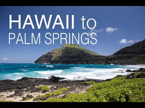 USA Vlog #1 - Hawaii to Palm Springs