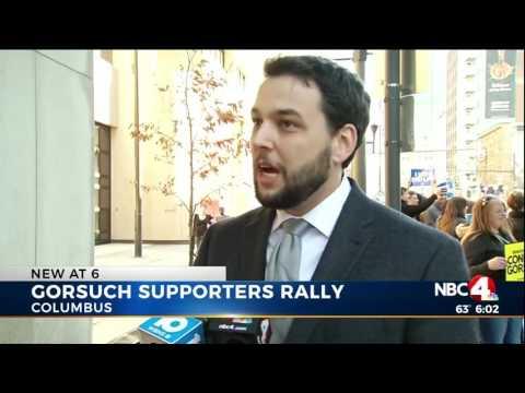 Columbus WCMH/NBC 4: Pro-life Activists Urge Sen. Brown to #ConfirmGorsuch