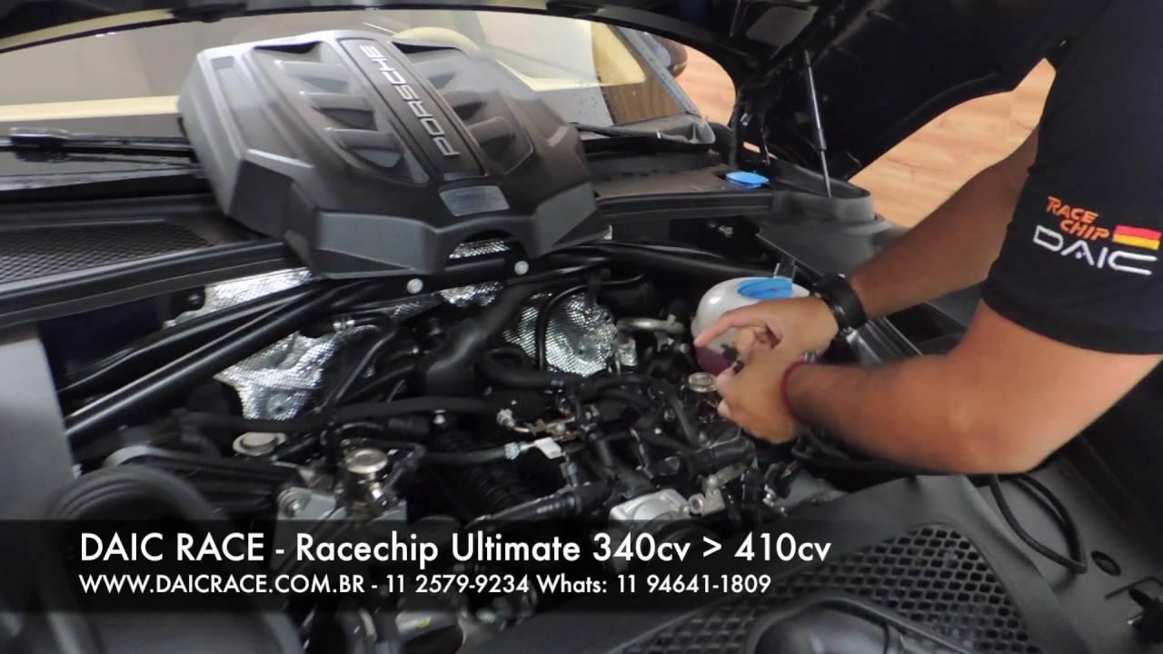 daic race - racechip chiptuning installation video porsche macan s - (11)  2579-9234