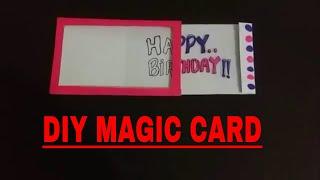 DIY Magic Birthday Card | How to make MAGIC CARD