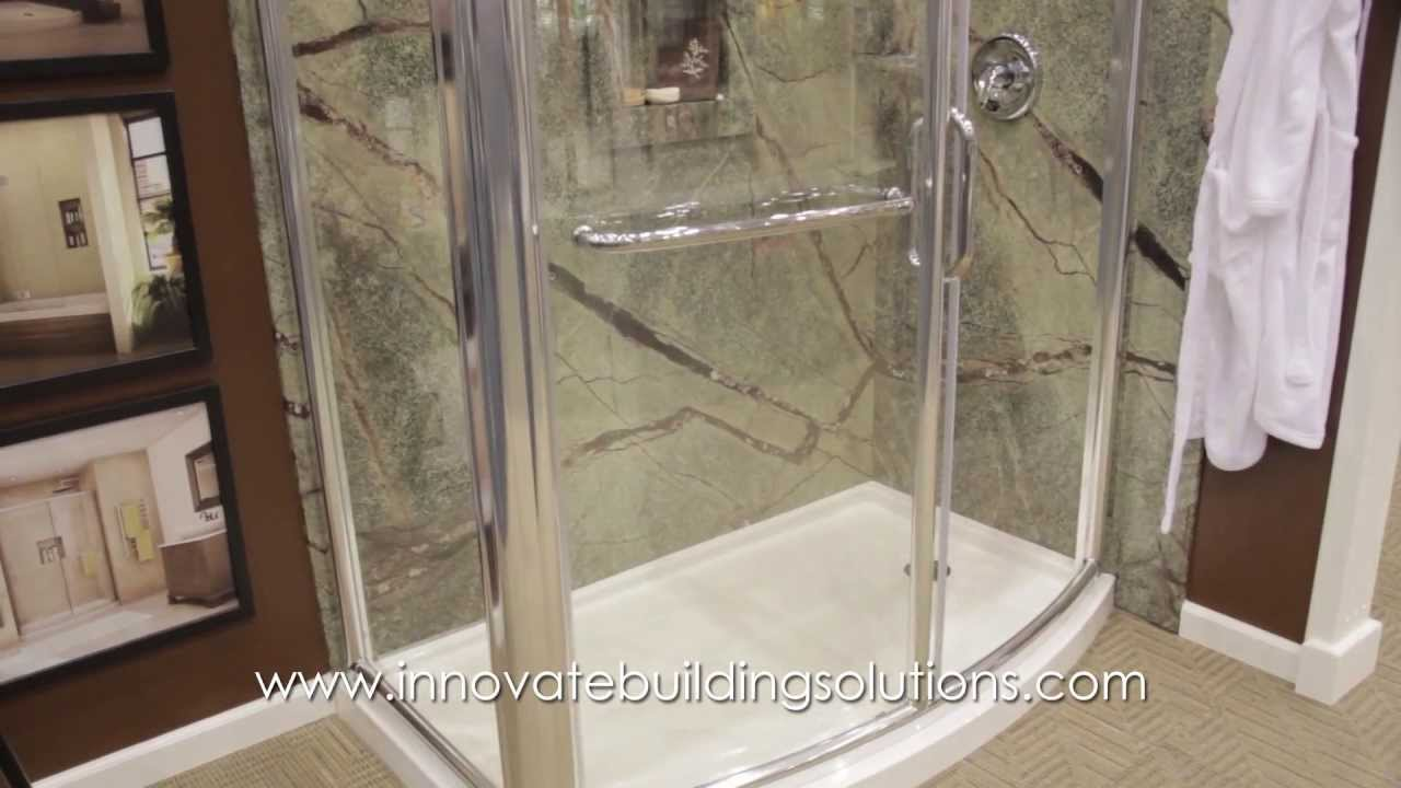 Decorative Shower And Tub Wall Panels For Nationwide Diy Supply Cleveland Columbus Installations Youtube