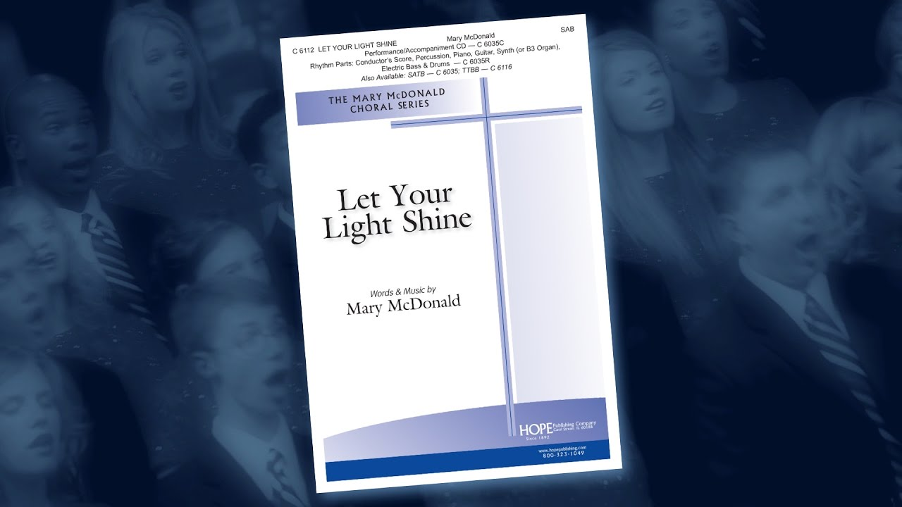 Download Let Your Light Shine - Mary McDonald