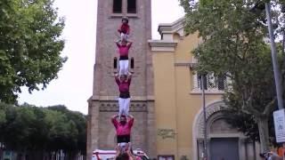 Pd5 Carregat || Castellers De Sant Feliu || Sant Rarimi 2016