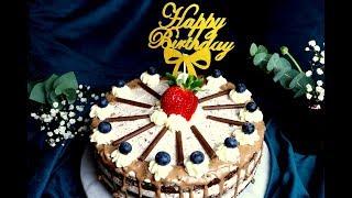 Die einfachste Geburtstagstorte I Badem Delights