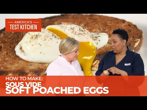 Take the Guesswork Out of Poached Eggs Using Sous Vide