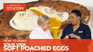 Take the Guesswork Oขt of Poached Eggs Using Sous Vide