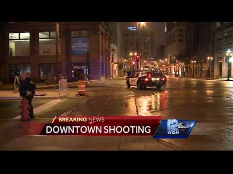 Woman shot in downtown Milwaukee