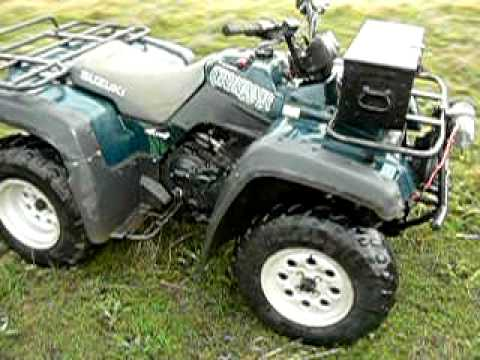 suzuki quadrunner lt 500 youtube