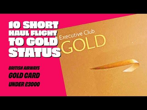 BA Gold Card for under £3000. British Airways Executive Club Top Tier