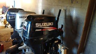 Suzuki DF30 гидроподъемник/дистанция