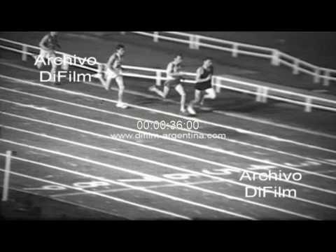 Peter Snell - Jim Grelle - Jim Ryun - Balboa Stadium Athletics 1965