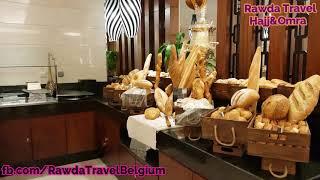 Rawda Travel swissotel al maqam Restaurant video Hajj 2018 Confort face Kaaba
