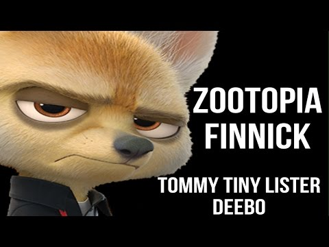 Zootopia: Finnick - Tommy Tiny Lister/Deebo