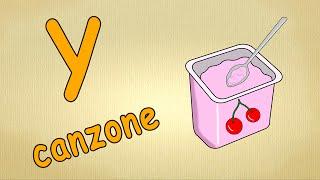Alfabeto italiano per bambini canzone - La lettera Y canzone / Impara canzoni l'italiano per bambini
