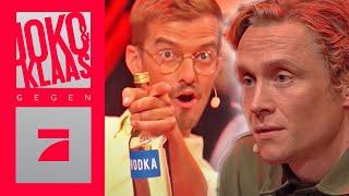 Wer hat Wodka genascht? Erkennt Schweighöfer den Trinker? | PREVIEW | Joko & Klaas gegen ProSieben