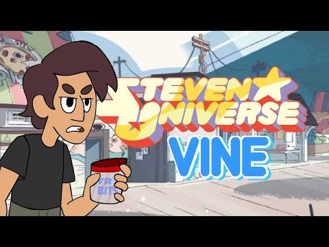 Steven Universe -- ANIMATED Thomas Sanders Vine w/ the SU Voice Actors