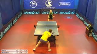 Настольный теннис матч 300618 9 Семина Ева Морозов...
